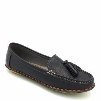 Giày moccasin Carlo Rino 333030-107-08 (đen)