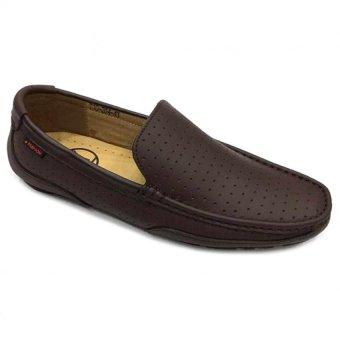 Giày lười da thật nam Everest (Nâu) C115