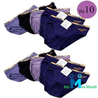 Bộ 10 quần lót nam FIRST SON siêu mịn - F06