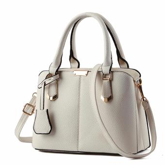 Túi xách thiết kế bao đẹp mẫu 2017 cho nàng thêm đẳng cấp-401 (kem)