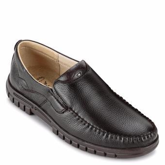 Giày Lười Nam Da Bò SunPoLo S812NRN (Nâu)
