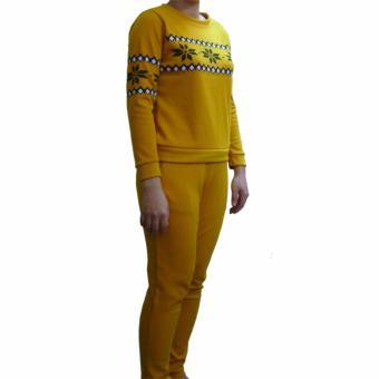 Đồ bộ mặc nhà Cát Hàn ML094 (Vàng)