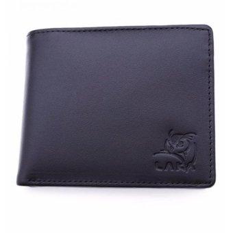Bộ ví và thắt lưng nam da thật LAKA (Đen)