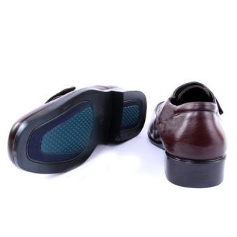 Giày tây công sở Da Thật chính hãng Giày Da Miền Trung VCT5LZ69N (Nâu)