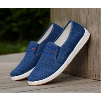 Giày Vải Canvas Nam cao cấp Hanama 8563