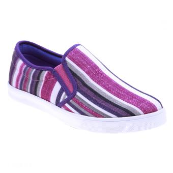 Giày xỏ nữ Aqua Sportswear W127 (Sọc Tím)