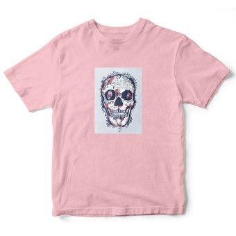 Áo Thun Skull head Suvi SuviTF0105 (Hồng)