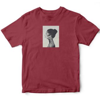 Áo Thun Nữ Gone- Fading Face (Đỏ)