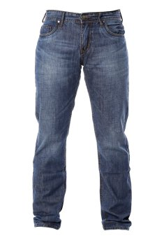 Quần jeans nam ống đứng trơn MAD 5453