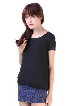 Áo kiểu nữ LADA NV7 (Đen)