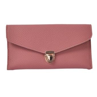 Women Daily Use Clutches Handbag Quality Clutch Purse Fashion Handbag Wallet RD - intl