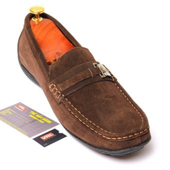 Giày lười nam da thật Da Giày Việt Nam VNL8LZD09N (Nâu)