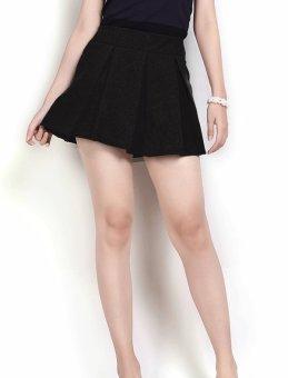 Chân váy xếp ly ngắn đen