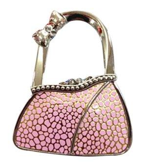 Folding Bag Purse Hook Handbag Hanger Holder - intl