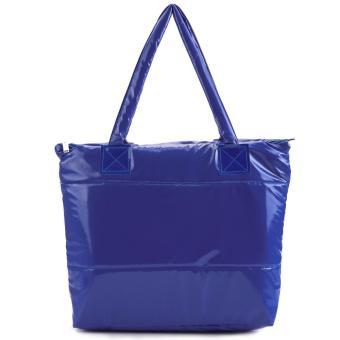Simple Design Solid Color Women Tote Bag - Intl - intl