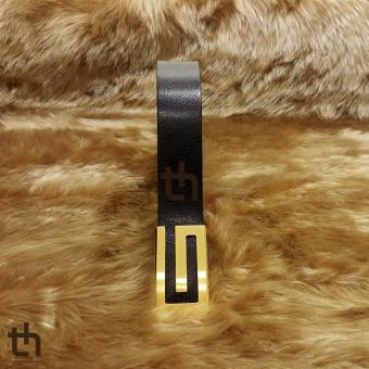 Dây lưng da trâu thật 100% thleather th2011143 (Đen)