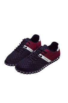 Giày lưới nam 2016 (Đen Đỏ)