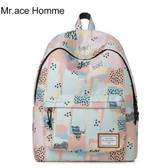 Balo Thời Trang Mr.ace Homme MR17A0469B01 / Nude phối họa tiết