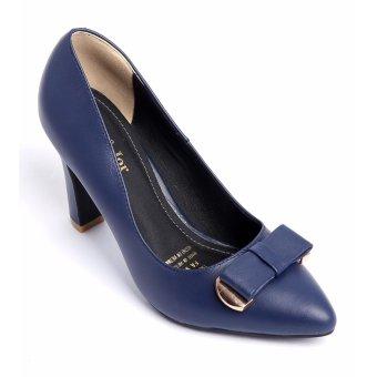 Giày cao gót FA934 - Xanh