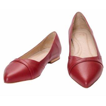 Giày Búp Bê Thương Hiệu Pierre Cardin PCWFWLB051-RED