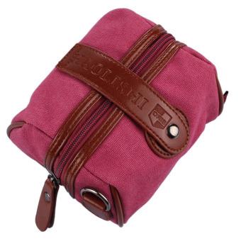 Fashion Cute Women Girls Shoulder Satchel Messenger Bag Hot Pink - Intl