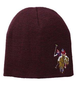Mũ (nón) len nam màu rượu chát U.S. Polo Assn. Men's Solid Beanie (Mỹ)