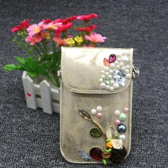 Women Mobile Phone Bag Clutch Purse Fashion Handbag Wallet GD - intl