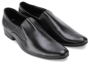 Giày tây nam da bò thật MB676 (Đen)