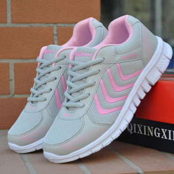 New Womens Running Trainers Walking Shoes Shock Absorbing Sports Fashion Shoes - intl