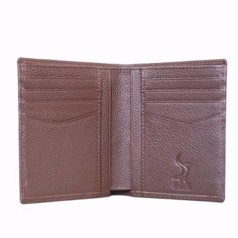 Bóp Ví Da Bò Nhập Đẹp Kiểu Đứng DBD 03 - RAICA (Nâu)