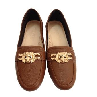 Giày nữ da bò chính hãng New Fashion 2016 GD221025 (Nâu)
