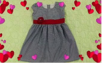 Đầm cho bé gái DBGMX (Xanh)