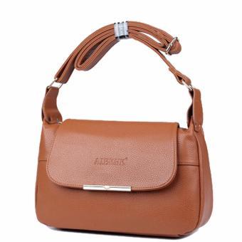 Túi xách da thật chính hãng AIBKHK AIB031 (Nâu vàng) - 2774601