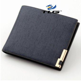 Ví Nam da cao cấp Đồ Da Thành Long TLG 204439-1 (xanh đen)