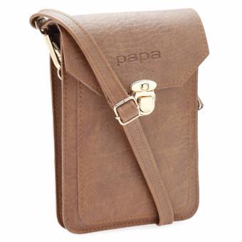 Túi đeo đựng điện thoại PAPA PPDT001 (Bò nhạt)