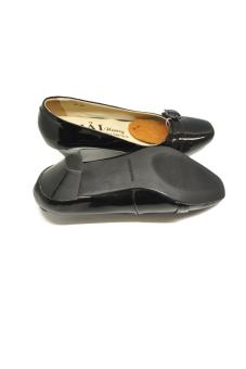 Giày nữ da bóng gót 5p 506D