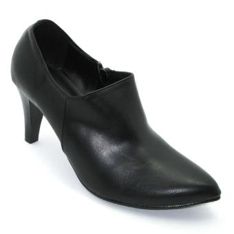 Giày Bốt Nữ Om Fashion 6536 (Đen)