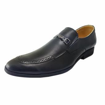 Giày Công Sở Lười Nam Ensado CS-A34 (Đen)