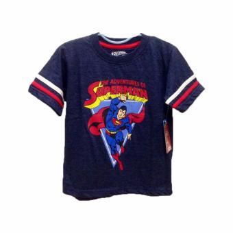 Áo thun bé trai Super Man - Tay ngắn - Size 5
