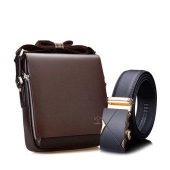 Bộ túi đeo chéo đựng ipad Kangaru 4364 và thắt lưng khóa tự động Hanama TGV