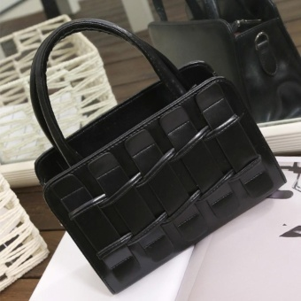 Women Handbags Messenger Bags Shoulder Fences Portable Shoulder Bag Black - intl