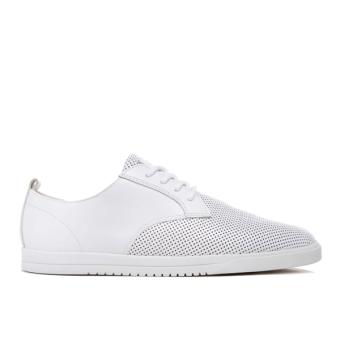 Giày Sneaker nam Clae Ellington Leather (Cla01246) (Trắng)