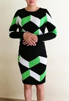 Bộ váy áo len rời TQ1801-1