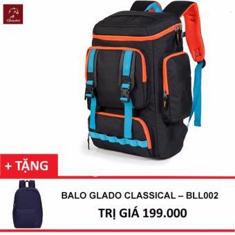 Balo Laptop Glado Cylinder BLC002 (Đen) + Tặng Balo Classical
