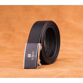 Dây lưng da bò mặt hình chữ nhật LaForce D890-03B