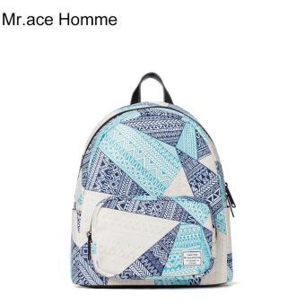 Balo Thời Trang Mr.ace Homme MR16B0285B01 / Xanh phối tím