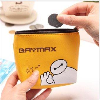 Túi đựng tiền xu baymax mini ngộ nghĩnh ( vàng)