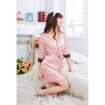 Áo khoác ngủ tay ren BEYEU1688 - BY5025