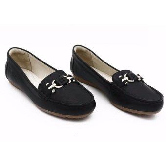 Giày mọi búp bê Pierre Cardin LB053-BLACK
