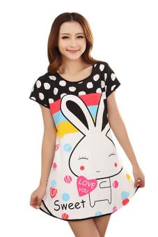 Đầm ngủ nữ Huy Kiệt TT63 (Trắng)